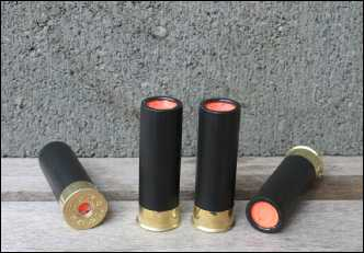 12 gauge black orange training shells
