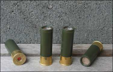 12 gauge military look display shells